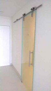 sliding glass barn doors sans soucie - 3