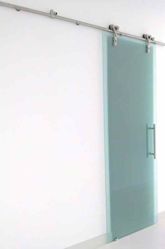 Sliding glass barn doors frosted glass sans soucie for 3 sliding glass doors