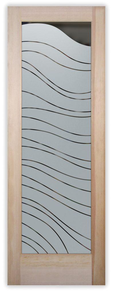 dreamy waves pantry door