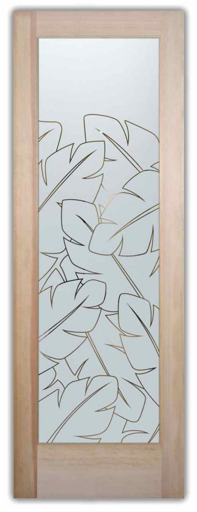 frosted glass door leaves sans soucie