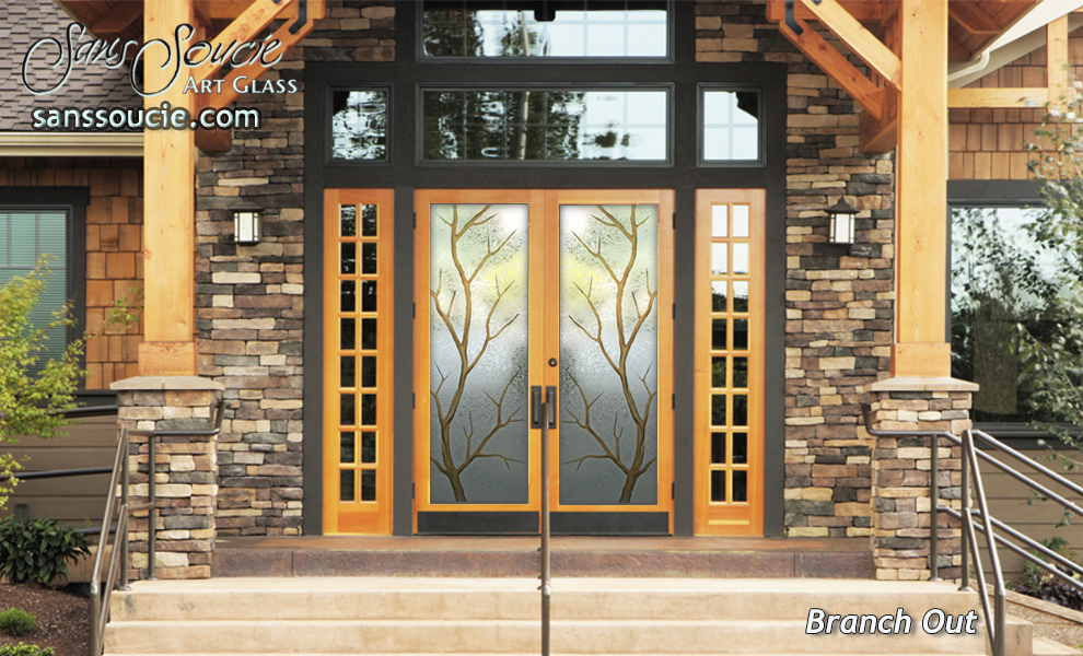 Double Entry Glass Doors I Branch Out By Sans Soucie