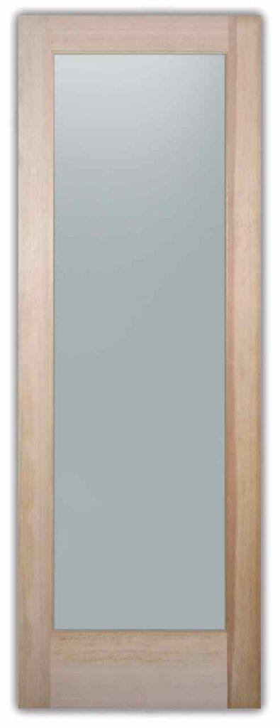 Pantry Doors Plain Frosted Glass Sans Soucie