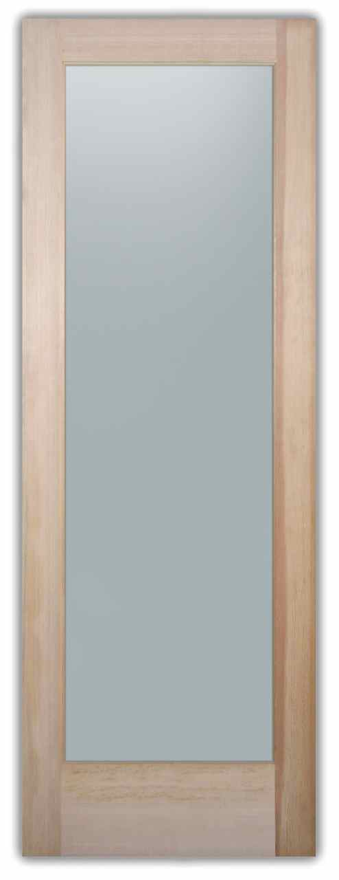 Plain Frosted Glass Pantry Doors Sans Soucie