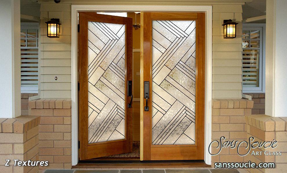 Exterior glass doors with impressive designs sans soucie for Simple door designs for home