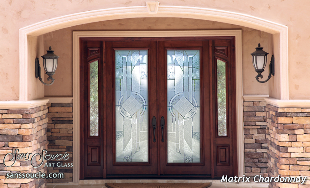 Frosted Glass Front Doors Sans Soucie Art Glass