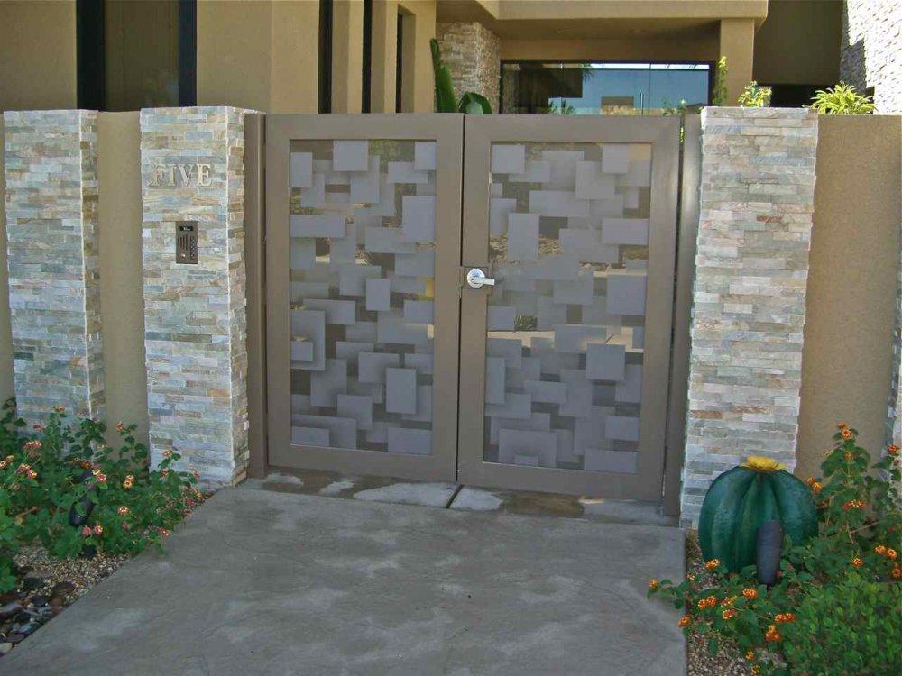 Door Glass Sans Soucie Art Glass