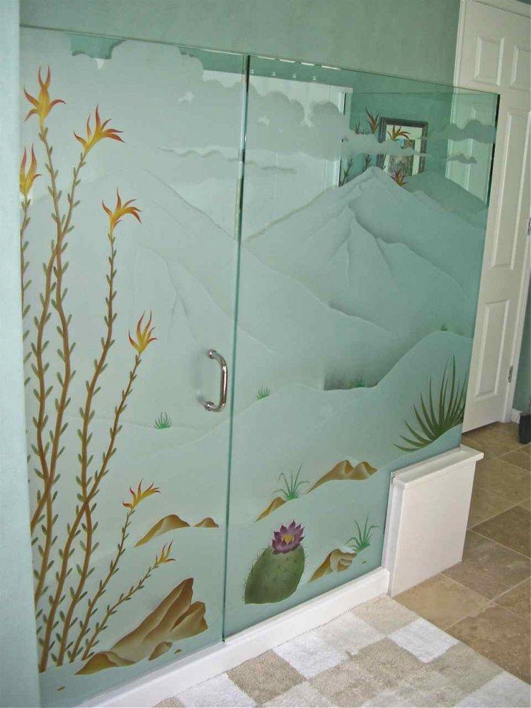 Shower Dividers - Sans Soucie Art Glass