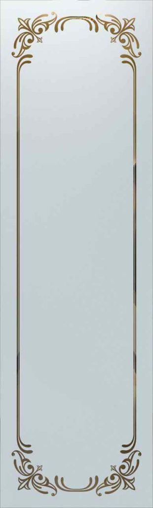 Door Glass Insert Lenora Border