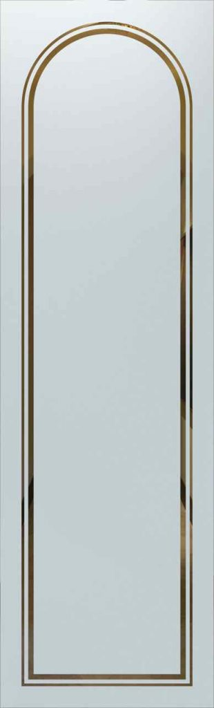 Door Glass Insert Radius Border