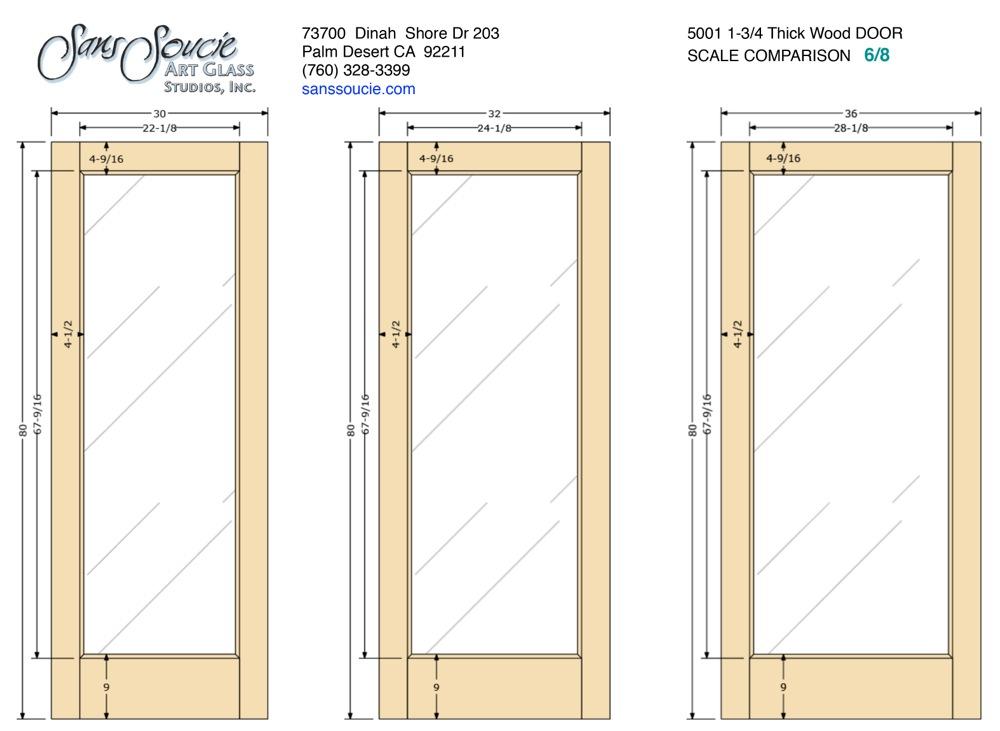 Door frame specs french 5001 1 3 4 thick door 6 8 for French door frame