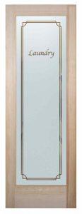 sans soucie laundry room door etched glass