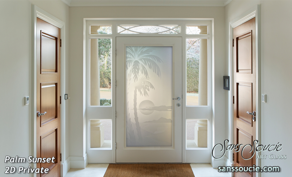 Glass front doors sans soucie art glass for Front doors with glass panels