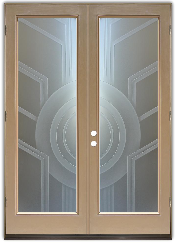 Glass Doors Sans Soucie Art Glass
