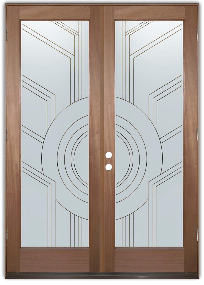 Traditional Designs Sans Soucie Art Glass