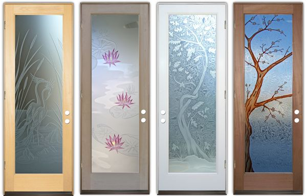 decorative glass asian decor style doors etched glass : asian doors - pezcame.com
