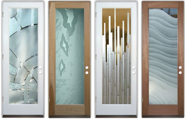 Endless Designs With Frosted Glass Doors Sans Soucie
