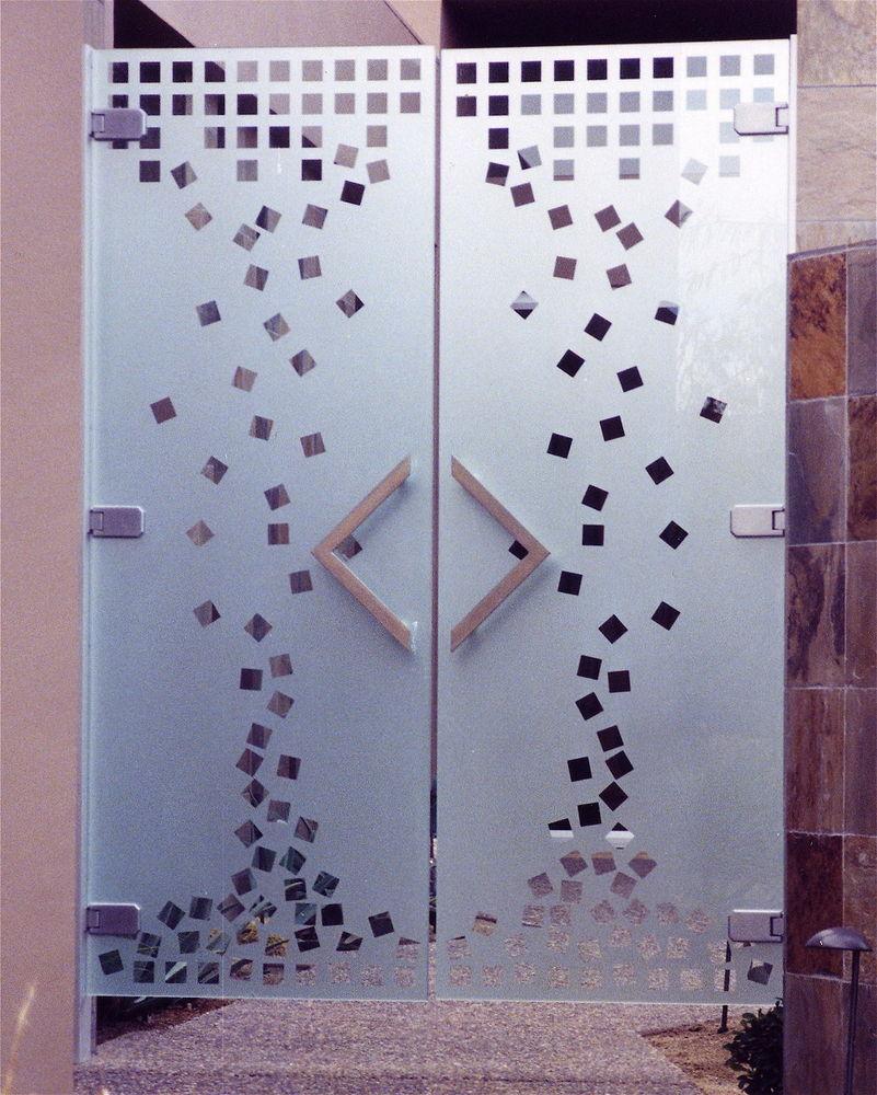 glass doors all glass frameless etched glass doors  modern doors