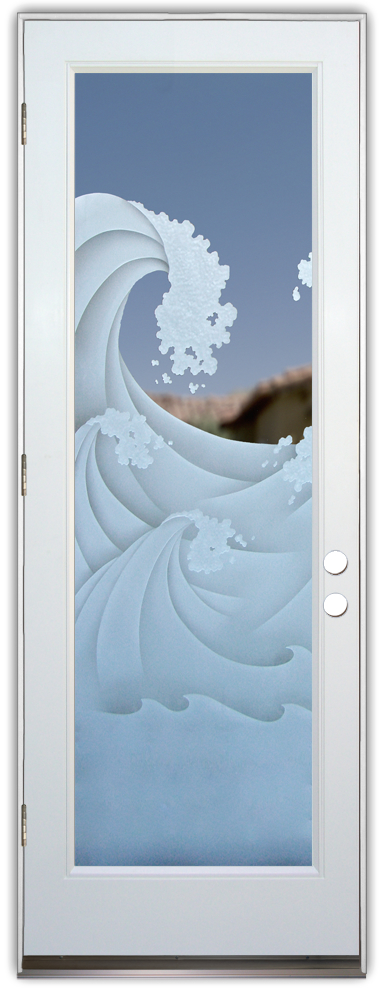 high seas 3D fibergl white