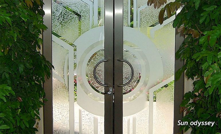 Sun Odyssey Glass Door
