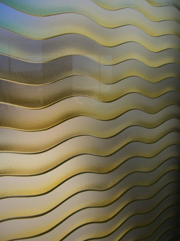 etched glass entry windows golden waves sans soucie