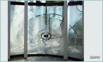 glass doors that make a statement