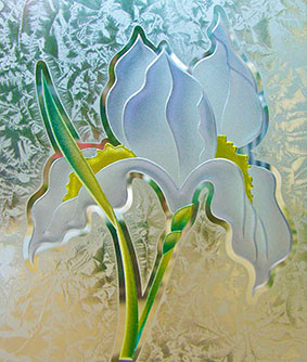 iris flower samples 041814 - 4 2D GC