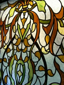 stained glass window venice detailed - 5
