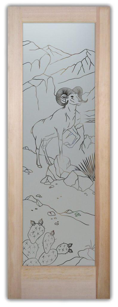 pantry door bighorn 1d pinstripe