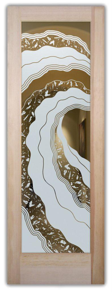 Interior Door Frosted Glass Modern Sans Soucie