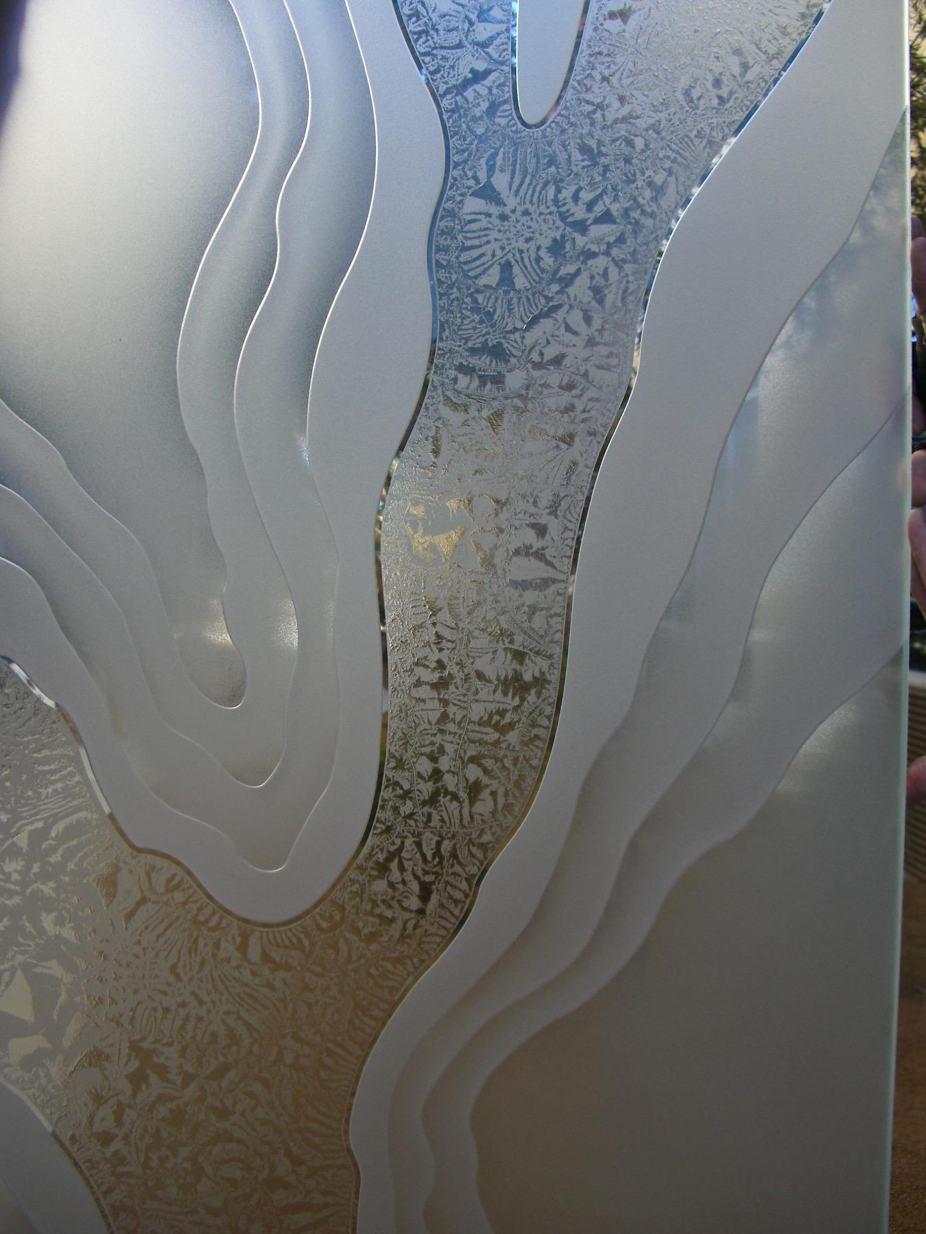 etched glass abstract liquid sans soucie Sans Soucie Art Glass