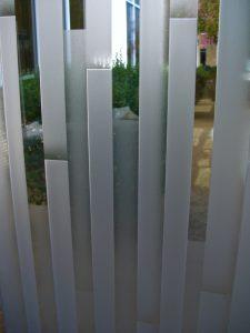Glass Windows Etched Glass Modern mosaics Sans Soucie