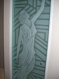 Frameless Glass Door 3D Everly