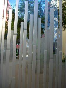 Glass Windows Carved Glass Geometric mosaics Sans Soucie