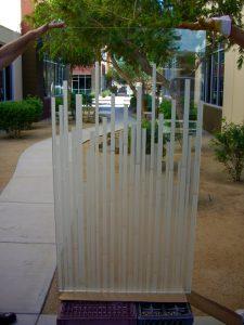 Glass Windows Carved Glass Contemporary mosaics Sans Soucie