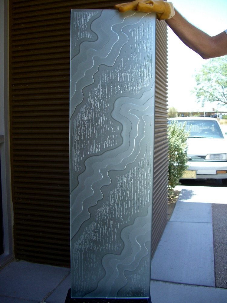 Door Glass Inserts Streams 3D Private