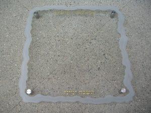Glass Signs Temple Donor Sans Soucie