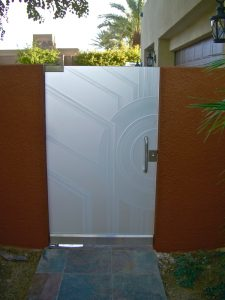 Glass Gates with Frosted Glass Contemporary Sans Soucie