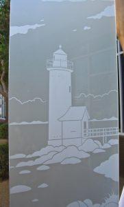Door Glass Inserts Etched Glass Landscape Sans Soucie
