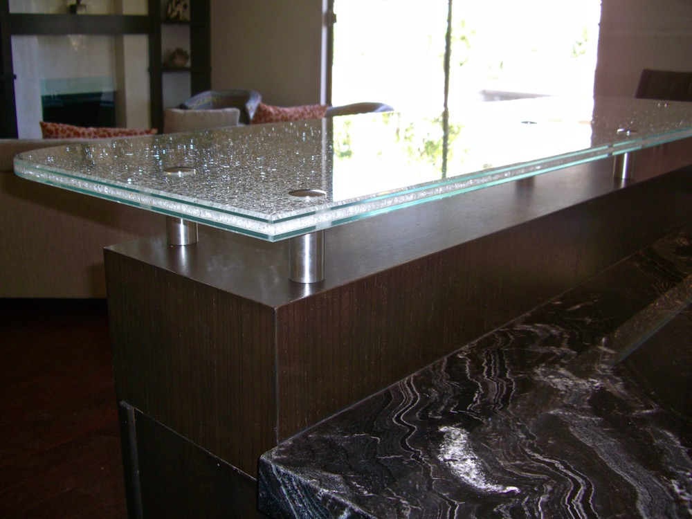 ... Sans Soucie Shattered Glass Countertops Etched Glass ...