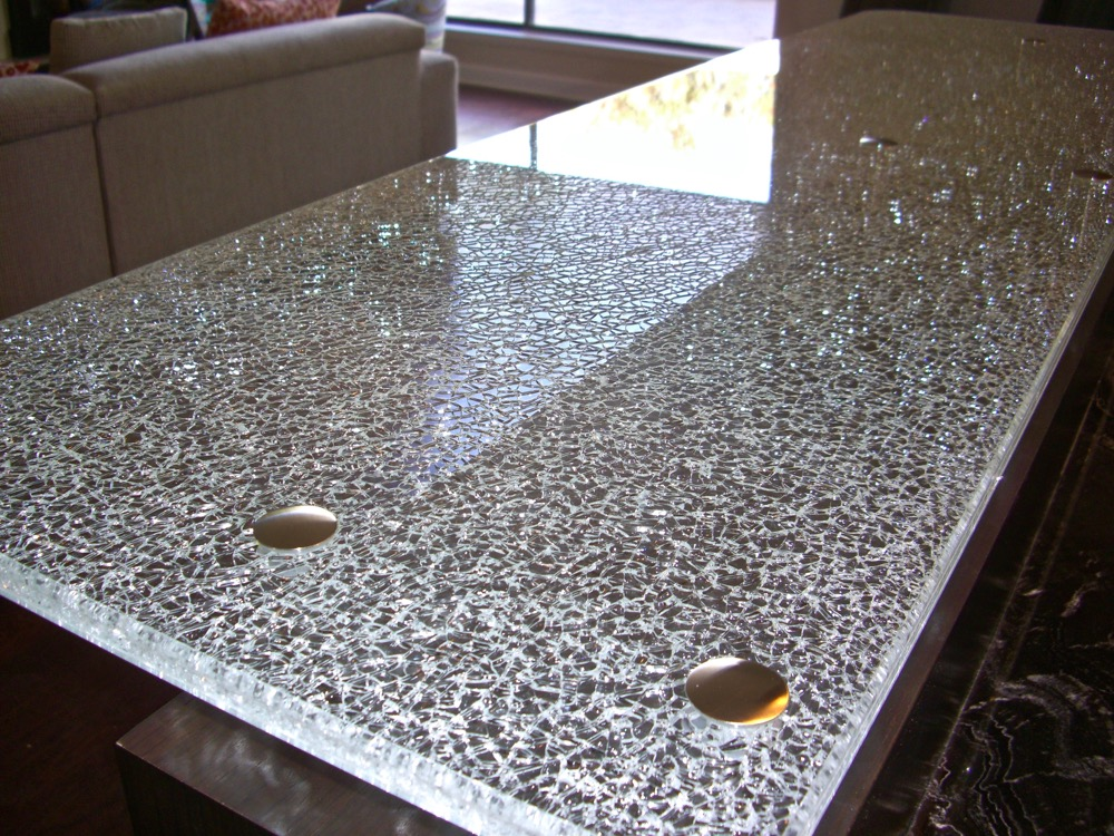Shattered Glass Countertops. «