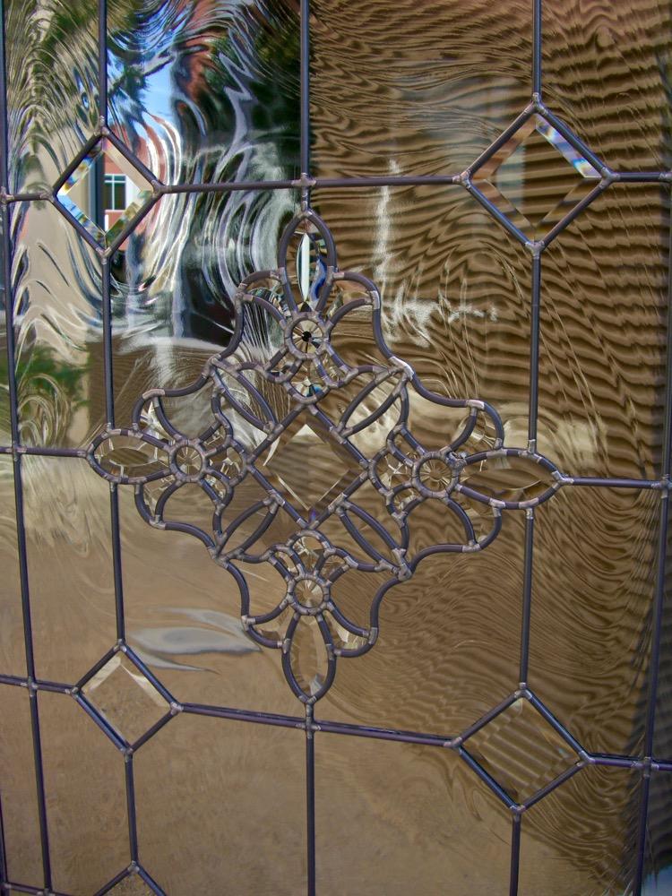 Beautiful Bevels Leaded Glass Door Inserts Sans Soucie