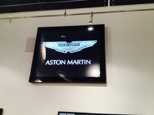 Glass Signs Etched Glass Logos Ashton Martin Sans Soucie