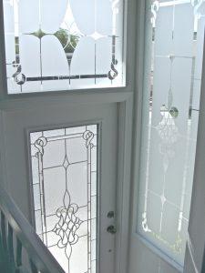 Etched Glass Windows Victorian Sans Soucie