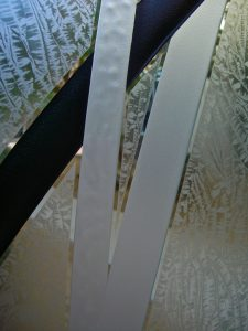 Door Glass Inserts Etched Glass Contemporary Sans Soucie