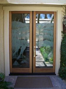 Glass Entry Doors Tropical Sans Soucie
