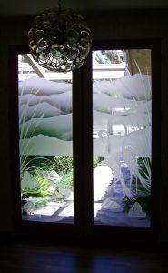 Sans Soucie Etched Glass Doors Asain