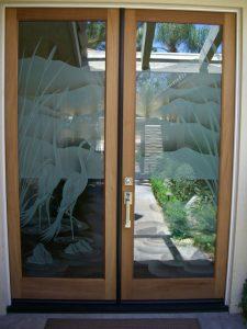 Glass Entry Doors Wildlife Sans Soucie