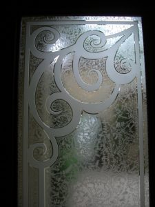 Glass Entry Doors and Transum Carved Glass Traditional Sans Soucie