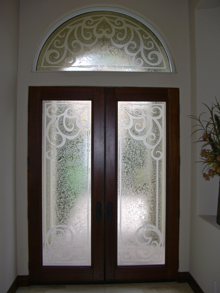 Concorde 3d Gluechip Glass Entry Doors Sans Soucie Art Glass
