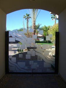 Etched Glass Gates Frosted Glass Pattern Sans Soucie